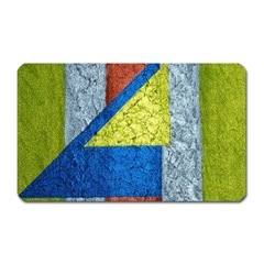 Abstract Magnet (rectangular) by Siebenhuehner