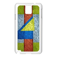 Abstract Samsung Galaxy Note 3 N9005 Case (white) by Siebenhuehner