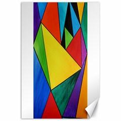 Abstract Canvas 24  X 36  (unframed) by Siebenhuehner