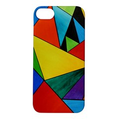 Abstract Apple iPhone 5S Hardshell Case by Siebenhuehner