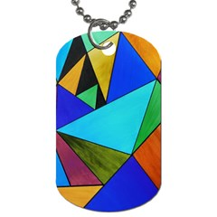 Abstract Dog Tag (Two-sided)  by Siebenhuehner