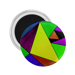 Abstract 2 25  Button Magnet by Siebenhuehner