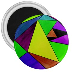 Abstract 3  Button Magnet by Siebenhuehner