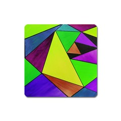 Abstract Magnet (square) by Siebenhuehner