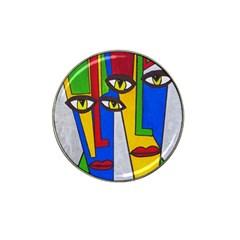 Face Golf Ball Marker (for Hat Clip) by Siebenhuehner