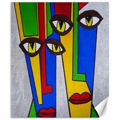 Face Canvas 20  X 24  (unframed) by Siebenhuehner