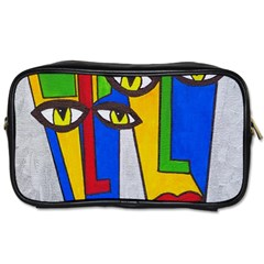 Face Travel Toiletry Bag (two Sides) by Siebenhuehner