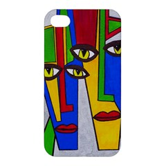 Face Apple Iphone 4/4s Hardshell Case by Siebenhuehner
