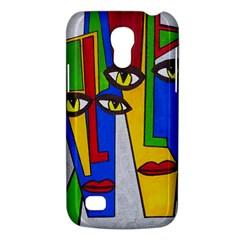 Face Samsung Galaxy S4 Mini (gt I9190) Hardshell Case  by Siebenhuehner