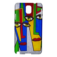 Face Samsung Galaxy Note 3 N9005 Hardshell Case by Siebenhuehner