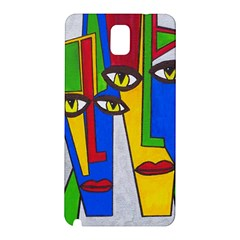 Face Samsung Galaxy Note 3 N9005 Hardshell Back Case by Siebenhuehner
