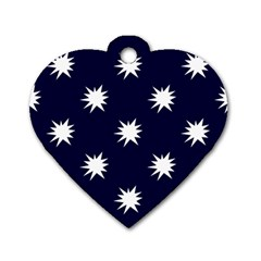 Bursting In Air Dog Tag Heart (two Sided) by StuffOrSomething