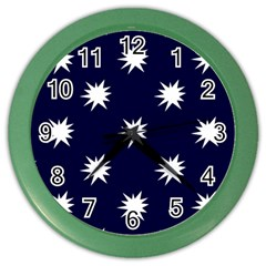 Bursting In Air Wall Clock (color) by StuffOrSomething