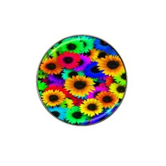 Colorful Sunflowers Golf Ball Marker 10 Pack (for Hat Clip) by StuffOrSomething