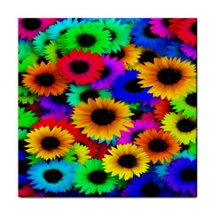 Colorful Sunflowers Face Towel by StuffOrSomething