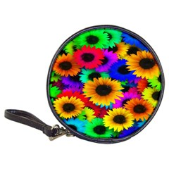 Colorful Sunflowers CD Wallet by StuffOrSomething