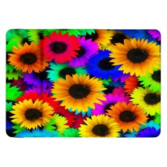 Colorful Sunflowers Samsung Galaxy Tab 8 9  P7300 Flip Case by StuffOrSomething