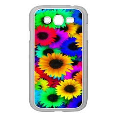 Colorful Sunflowers Samsung Galaxy Grand Duos I9082 Case (white) by StuffOrSomething