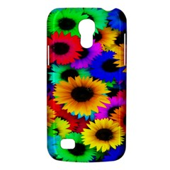 Colorful Sunflowers Samsung Galaxy S4 Mini (gt I9190) Hardshell Case  by StuffOrSomething