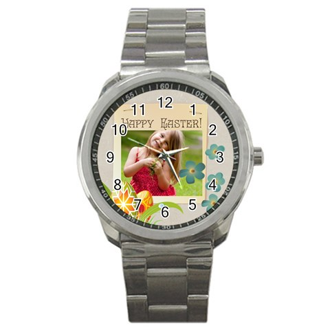 Easter By Easter   Sport Metal Watch   To36tnm923i2   Www Artscow Com Front