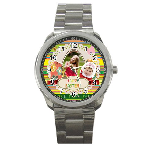 Easter By Easter   Sport Metal Watch   Sd7dlhrewzfc   Www Artscow Com Front