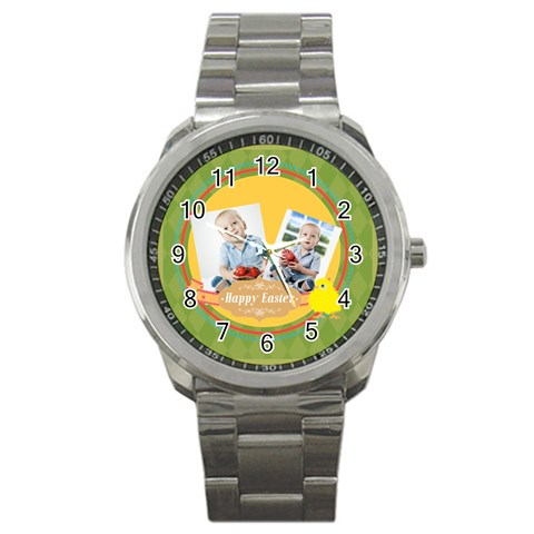 Easter By Easter   Sport Metal Watch   Xo1zx0zmuf4l   Www Artscow Com Front