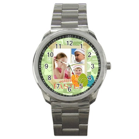 Easter By Easter   Sport Metal Watch   1g90bgntqefx   Www Artscow Com Front