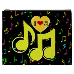 Music Xxxl Cosmetic Bag By Joy Johns   Cosmetic Bag (xxxl)   R2j40petay1e   Www Artscow Com Front