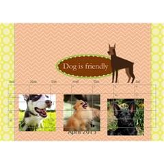 Pet By Pet    Desktop Calendar 8 5  X 6    Dqdt8hsnvb3m   Www Artscow Com Apr 2015