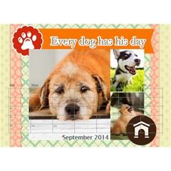 Pet By Pet    Desktop Calendar 8 5  X 6    Dqdt8hsnvb3m   Www Artscow Com Sep 2014