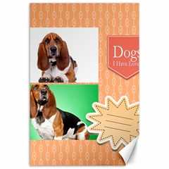 Pet By Pet    Canvas 24  X 36    Aur0o9ln2zrj   Www Artscow Com 36 x24 Canvas - 2