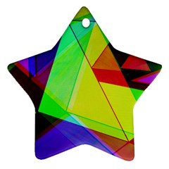 Moderne Star Ornament by Siebenhuehner