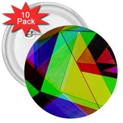 Moderne 3  Button (10 Pack) by Siebenhuehner