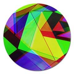 Moderne Magnet 5  (round) by Siebenhuehner