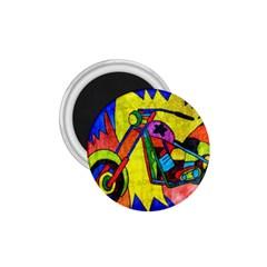 Chopper 1 75  Button Magnet