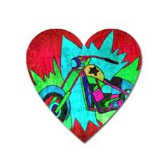 Chopper Magnet (heart) by Siebenhuehner