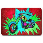 Chopper Large Door Mat 30 x20 Door Mat - 1