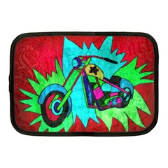 Chopper Netbook Sleeve (medium) by Siebenhuehner