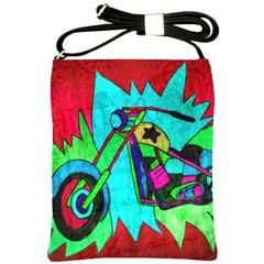 Chopper Shoulder Sling Bag by Siebenhuehner