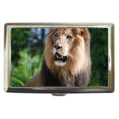Regal Lion Cigarette Money Case by AnimalLover