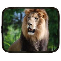 Regal Lion Netbook Sleeve (large) by AnimalLover