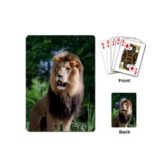 Regal Lion Playing Cards (mini) by AnimalLover