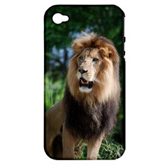 Regal Lion Apple Iphone 4/4s Hardshell Case (pc+silicone) by AnimalLover