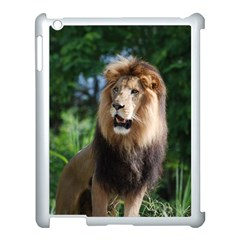 Regal Lion Apple Ipad 3/4 Case (white) by AnimalLover