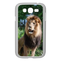 Regal Lion Samsung Galaxy Grand Duos I9082 Case (white) by AnimalLover