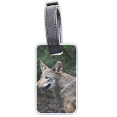 Shdsc 0417 10502cow Luggage Tag (two Sides) by AnimalLover