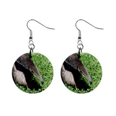 Giant Anteater Mini Button Earrings
