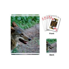 Red Wolf Playing Cards (mini) by AnimalLover