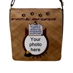 Cat Flap Closure Messenger Bag - Flap Closure Messenger Bag (L)