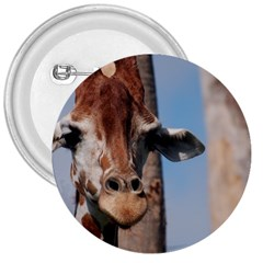 Cute Giraffe 3  Button by AnimalLover